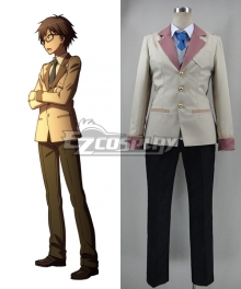 Ranpo Kitan: Game of Laplace Souji Hashiba Uniform Cosplay Costume