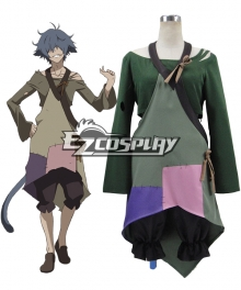 Rokka Braves of the Six Flowers Rokka no Yusha Hans Humpty Hansu Hanputi Cosplay Costume - B