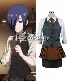Tokyo Ghoul Touka Kirishima Working Uniform Cosplay Costume