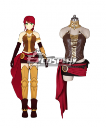 RWBY Beacon Academy Team JNPR Pyrrha Nikos Cosplay Costume
