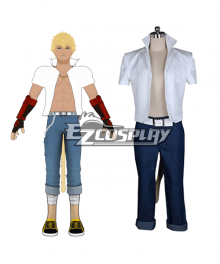 Rwby Haven Academy Team SSSN Sun Wukong Cosplay Costume