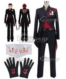 RWBY The White Fang Adam Taurus Cosplay Costume