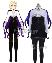 RWBY Beacon Academy Staff Glynda Goodwitch Cosplay Costume - B Edition