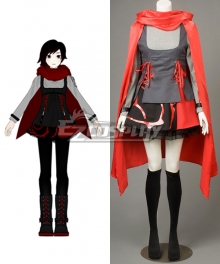 RWBY Season 2 Red Trailer Ruby Rose Cosplay Costume