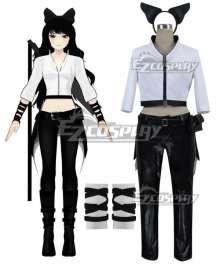 RWBY Blake Belladonna White Cosplay Costume