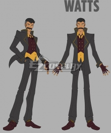 RWBY Arthur Watts Cosplay Costume