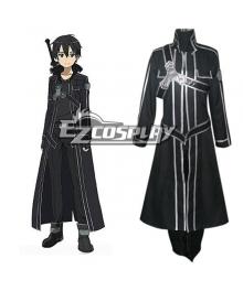 Sword Art Online SAO Sodo Ato Onrain Kirigaya Kazuto Kirito Cosplay Costume