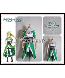 Sword Art Online ALfheim Online Leafa Lyfa Kirigaya Suguha Cosplay Costume