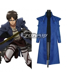 Attack on Titan Shingeki no Kyojin The Recon Corp Eren Jager Wings of Counterattack Online Machine Gunner Cosplay Costume