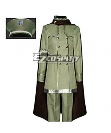 Attack on Titan Shingeki no Kyojin The Recon Corp Wings of Counterattack Onlin Corps Uniform Cosplay Costume