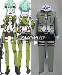 Sword Art Online 2 Sinon GGO Gun Gale Online TV Ver. Cosplay Costume