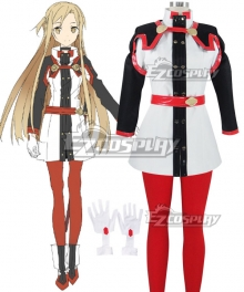 Sword Art Online Ordinal Scale Yuuki Asuna Yuki Asuna Movie New Cosplay Costume