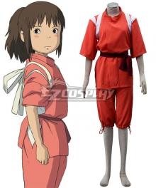 Hayao Miyazaki Spirited Away Ogino Chihiro Cosplay Costume