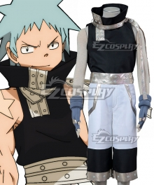 Soul Eater Black Star Cosplay Costume - B Edition