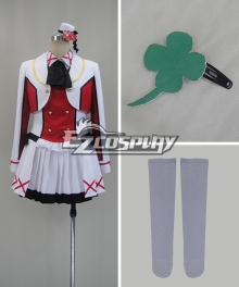 LOVE LIVE2 LoveLive! Hoshizora Rin Performance Cosplay Costume