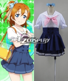 lovelive! Love Live Honoka Kousaka Navy Unawakened Sailor Cosplay Costume