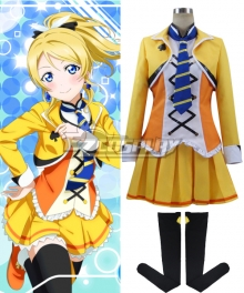 Love Live! SR The School Idol Movie Eli Ayase Ellie Cosplay Costume