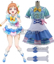 Love Live! Sunshine!! Chika Takami Cosplay Costume