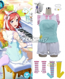 Love Live! LoveLive! Maki Nishikino Zoo Animal Keeper Awakening Cosplay Costume