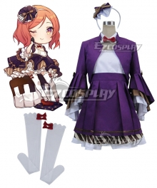 Love Live! Lovelive! Musical instrument Maki Nishikino Cosplay Costume