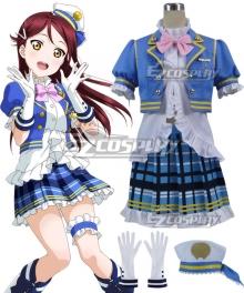 Love Live! Sunshine!! Aqours Riko Sakurauchi Navy Cosplay Costume