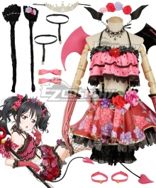Love Live! Lovelive! Halloween Nico Yazawa Little Devil Ver. Cosplay Costume