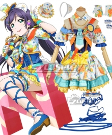Love Live! Lovelive! Transformed Idol Nozomi Tojo Cosplay Costume