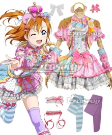 Love Live! Lovelive! Transformed Idol Honoka Kosaka Cosplay Costume