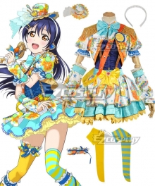 Love Live! Lovelive! Transformed Idol Umi Sonoda Cosplay Costume