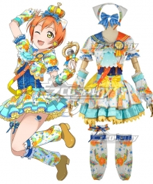 Love Live! Lovelive! Transformed Idol Rin Hoshizora Cosplay Costume