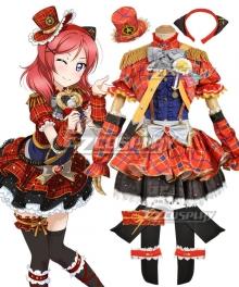 Love Live! Lovelive! Transformed Idol Maki Nishikino Cosplay Costume