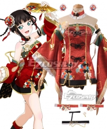 Love Live! Sunshine!! China Dress Ver Dia Kurosawa Cosplay Costume