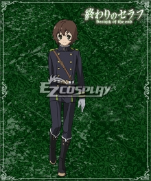Seraph of the End Vampire Reign Owari no Serafu Yoichi Saotome Cosplay Costume