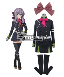 Seraph of the End Owari no Serafu Vampire Reign Shinoa Hiragi Hiragi Shinoa Cosplay Costume