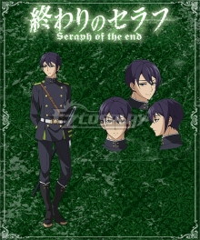 Seraph of the End Battle in Nagoya Owari no Serafu Vampire Reign Shusaku Iwasaki Cosplay Costume