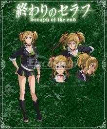 Seraph of the End Battle in Nagoya Owari no Serafu Vampire Reign Rika Inoue Cosplay Costume
