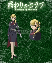 Seraph of the End Battle in Nagoya Owari no Serafu Vampire Reign Aoi Sangu Cosplay Costume