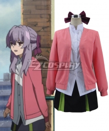 Seraph of the End Owari no Serafu Hiragi Shinoa Daily Wear Cosplay Costume