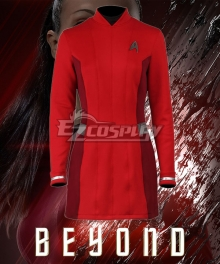 Star Trek Beyond Nyota Uhura Red Dress Cosplay Costume