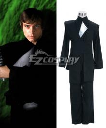 Star Wars Luke Skywalker Black Cosplay Costume