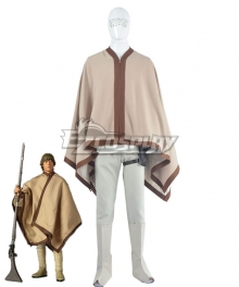 Star Wars Luke Skywalker Brown Cosplay Costume