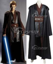 Star Wars Episode II Attack of the Clones Anakin Skywalker Cosplay Costume
