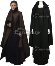 Star Wars The Last Jedi General Leia Organa Cosplay Costume