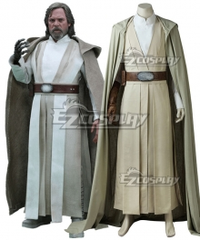 Star Wars The Last Jedi Luke Skywalker New Edition Cosplay Costume
