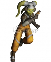 Star Wars Rebels Hera Syndulla Cosplay Costume - Including Headgear