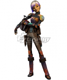 Star Wars Rebels Sabine Wren Season 3 Cosplay Costume