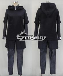 Tokyo Ghouls Ken Kaneki New Version Combat Cosplay Costume