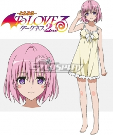 To Love Ru Trouble Darkness 2nd Momo Belia Deviluke Cosplay Costume