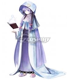 Touhou Project Koumajou Densetsu: Scarlet Symphony Patchouli Knowledge Cosplay Costume