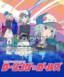 The Rolling Girls Kosaka Yukina Cosplay Costume